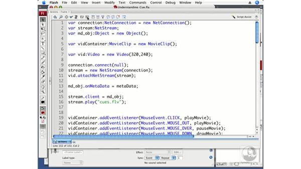 Understanding cue points: ActionScript 3.0 in Flash CS3 Professional Beyond the Basics