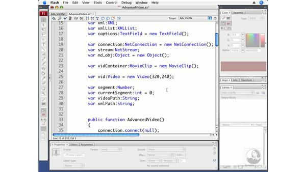 Creating an AdvancedVideo class: ActionScript 3.0 in Flash CS3 Professional Beyond the Basics