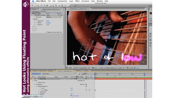 Creative uses of float: Hot Looks Using Floating Point in After Effects