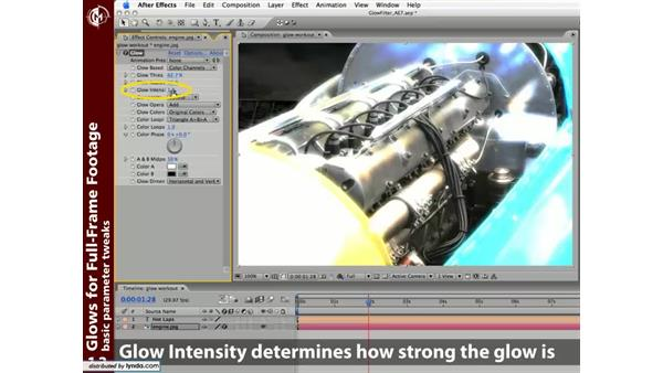 Glows for full-frame footage: Learning the After Effects Glow Plug-In