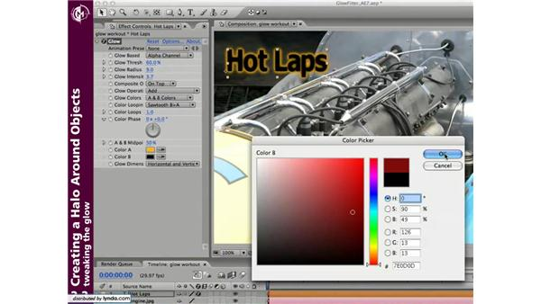 Creating haloes around objects: Learning the After Effects Glow Plug-In