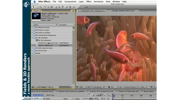 Fields and 3D renders: Understanding Fields & Interlacing in After Effects