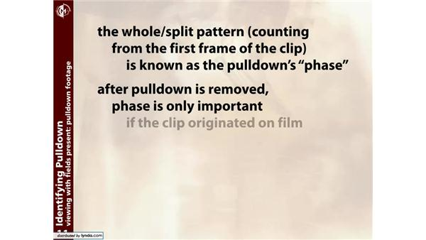 Identifying pulldown: Working with 3:2 Pulldown in After Effects