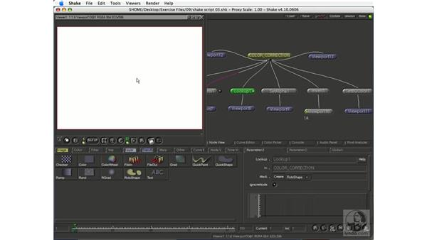 Color correction: Shake 4.1 Essential Training