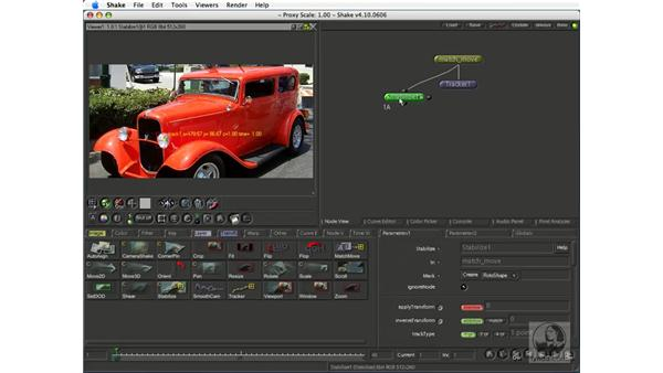 About motion tracking: Shake 4.1 Essential Training