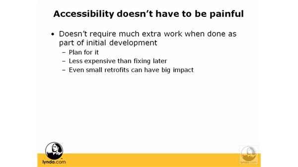 What does accessibility mean?: Web Accessibility Principles