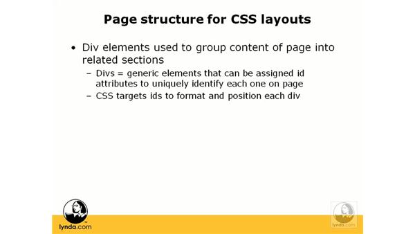 Using CSS for layout: Web Accessibility Principles