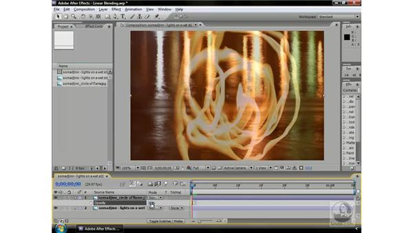 What is linear blending?: After Effects CS3 Professional Beyond the Basics