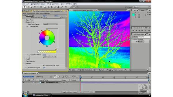 Colorizing with Colorama: After Effects CS3 Professional Beyond the Basics