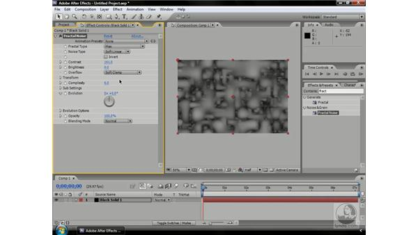 Mastering Fractal Noise parameters: After Effects CS3 Professional Beyond the Basics
