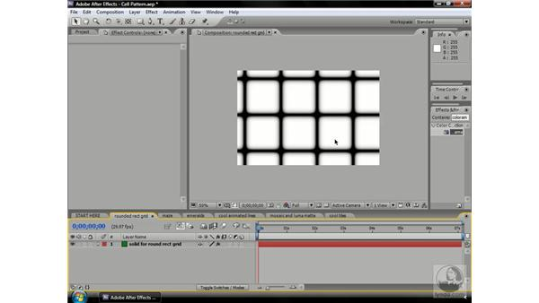 Using Cell Pattern: After Effects CS3 Professional Beyond the Basics