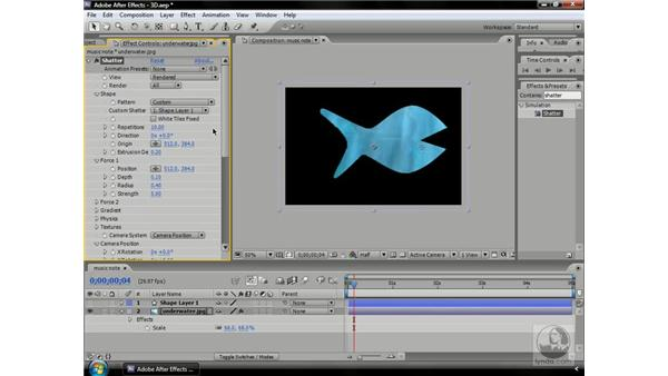 Creating real 3D objects by hacking Shatter: After Effects CS3 Professional Beyond the Basics