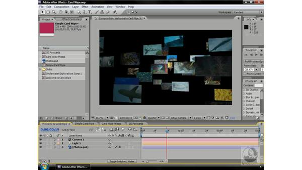 What is Card Wipe for?: After Effects CS3 Professional Beyond the Basics