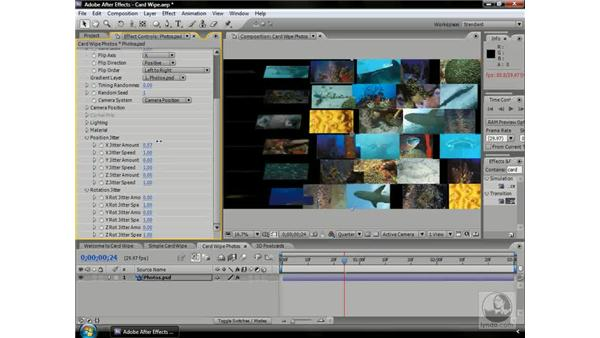 Bringing Card Wipe to life!: After Effects CS3 Professional Beyond the Basics