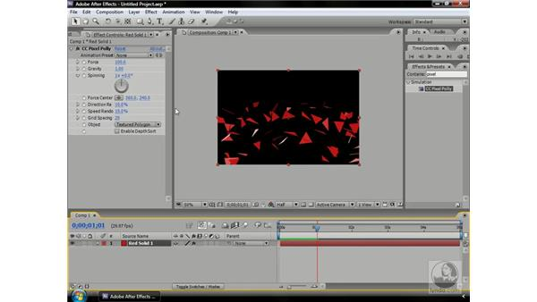 A look at Cycore's particle systems: After Effects CS3 Professional Beyond the Basics