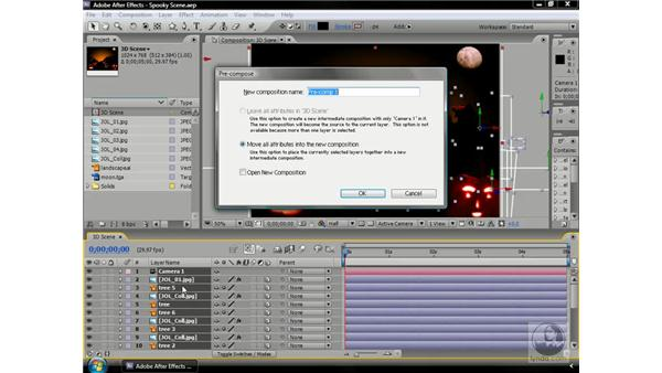 Using Z-scale on precomposed 3D comps: After Effects CS3 Professional Beyond the Basics