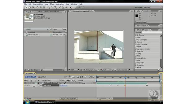Remapping time: After Effects CS3 Professional Beyond the Basics