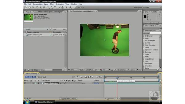 Stretching time: After Effects CS3 Professional Beyond the Basics