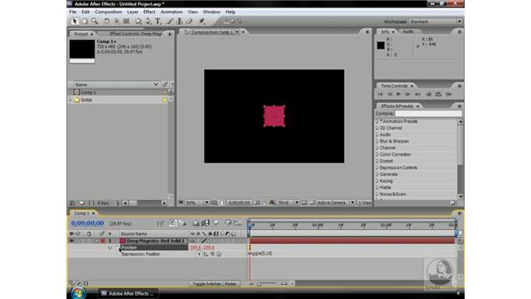 """The """"zen"""" of expressions: After Effects CS3 Professional Beyond the Basics"""