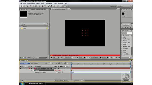 What is an array?: After Effects CS3 Professional Beyond the Basics