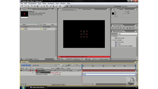 The index expression: After Effects CS3 Professional Beyond the Basics