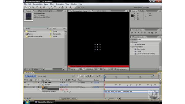 Getting an object to trail another with expressions: After Effects CS3 Professional Beyond the Basics