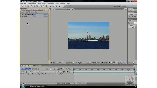 Using Snapshots: After Effects CS3 Professional Beyond the Basics