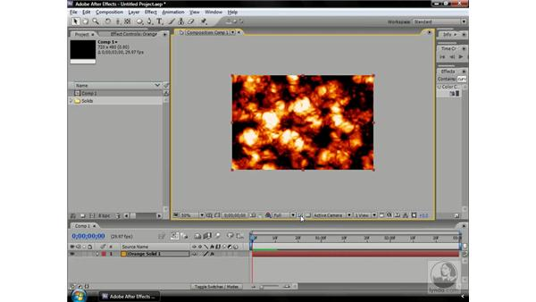 Previewing a specific area: After Effects CS3 Professional Beyond the Basics