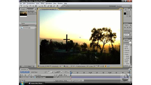 Temporarily adjusting comp brightness: After Effects CS3 Professional Beyond the Basics