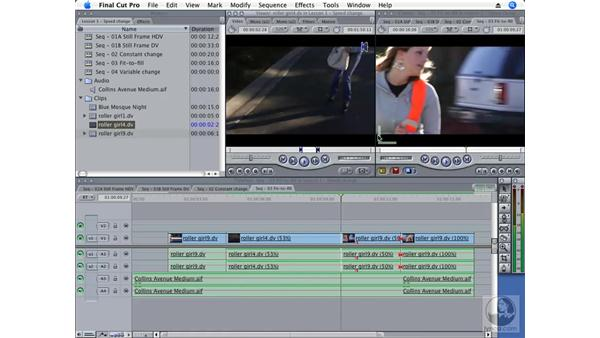 Making a Fit-to-Fill edit: Final Cut Pro 6 Essential Effects