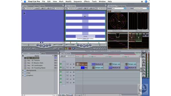 What is a composite mode?: Final Cut Pro 6 Essential Effects