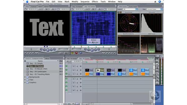 Blending textures: Final Cut Pro 6 Essential Effects