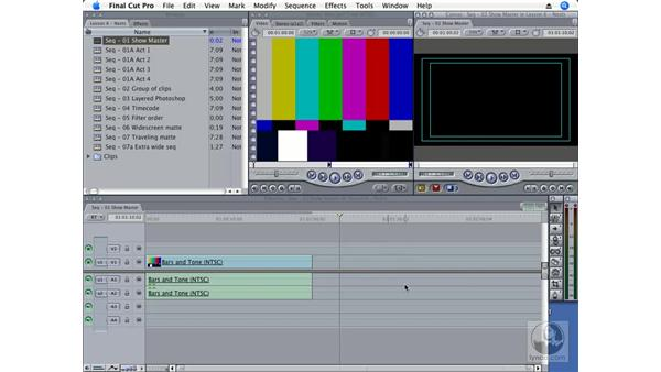 Building a show master: Final Cut Pro 6 Essential Effects
