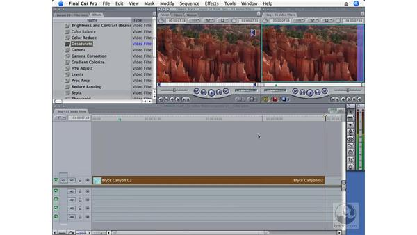 Video filters: Final Cut Pro 6 Essential Effects
