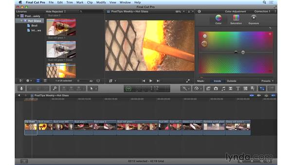 Performing secondary color correction in Final Cut Pro X: Video Post Tips Weekly