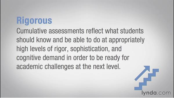Determining end-of-course assessments: Teaching Fundamentals: Data-Driven Instruction