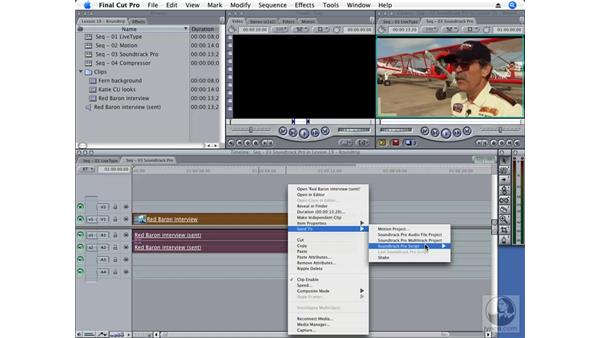 Soundtrack Pro: Final Cut Pro 6 Essential Effects