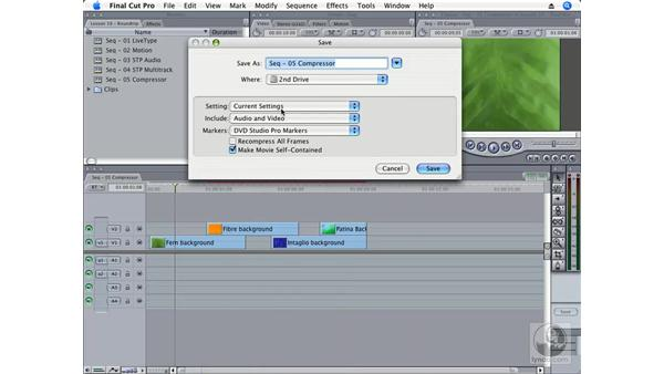 Compressor: Final Cut Pro 6 Essential Effects