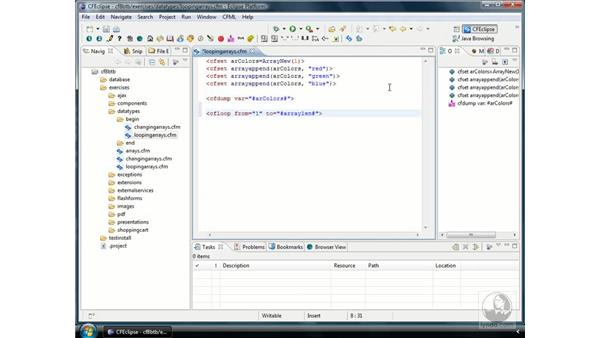 Looping through arrays: ColdFusion 8 Beyond the Basics