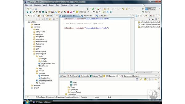 Setting up the application: ColdFusion 8 Beyond the Basics