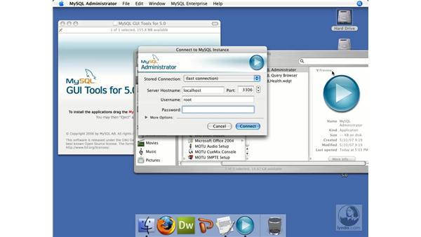 Installing MySQL tools on Mac OS X: ColdFusion 8 Beyond the Basics