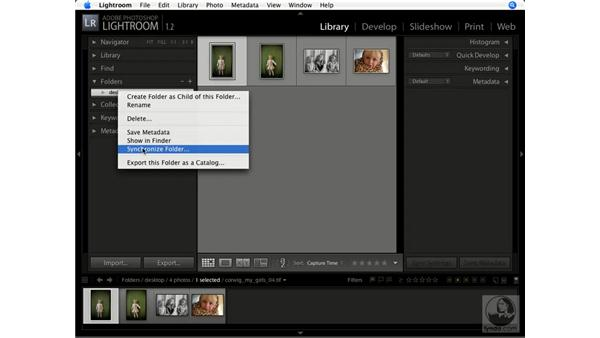 Synchronizing folders: Lightroom 1.1 New Features
