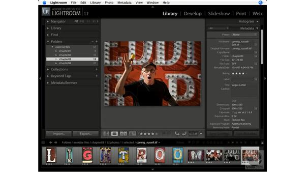Exporting images: Lightroom 1.1 New Features