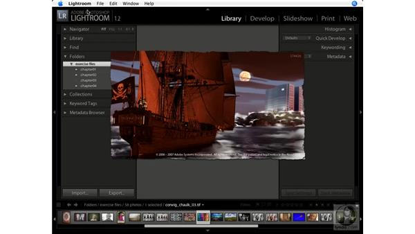 Easter egg: Splash: Lightroom 1.1 New Features