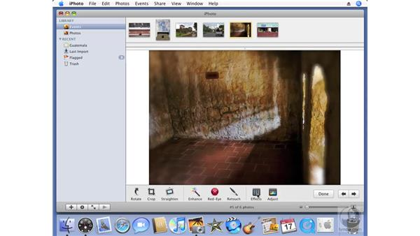 iPhoto overview: iPhoto '08 Essential Training