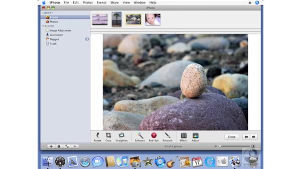 Other editing tools: iPhoto '08 Essential Training