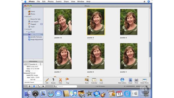 Creating Smart Albums: iPhoto '08 Essential Training
