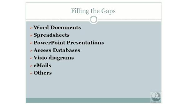 Filling gaps with SharePoint: SharePoint 2007 Essential Training