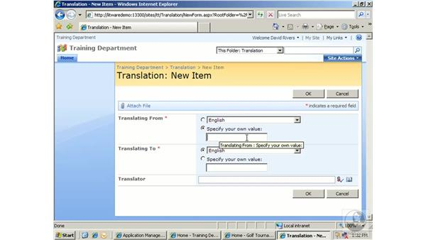 Working with languages and translators: SharePoint 2007 Essential Training