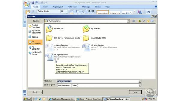 Integrating with Office: SharePoint 2007 Essential Training